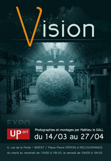 Affiche de l'exposition Vision