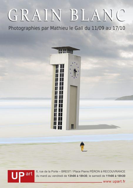 Affiche de l'exposition Grain Blanc