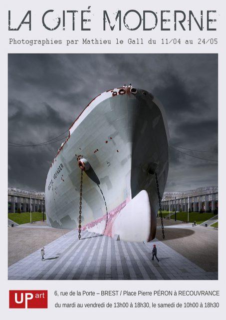 Affiche de l'exposition La Cité Moderne